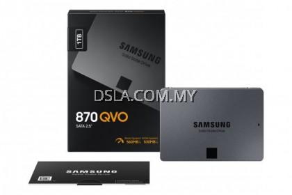 "SAMSUNG 870 QVO 1TB SATA III 2.5"" V-NAND Flash QLC SSD SOLID STATE DRIVE"