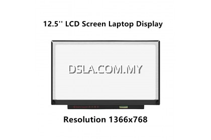 12.5 Slim 30 Pin (NO SCREW HOLE) B125XTN01.0  Normal HD 1366 X 768 LED Laptop Replacement Screen