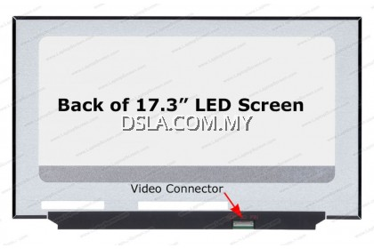 17.3 SLIM 30PIN FHD IPS NO BRACKET 60HZ (1920 X 1080) B173HAN04.2 N173HCE-E3A LAPTOP REPLACEMENT SCREEN