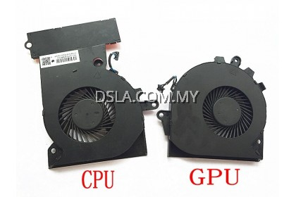 HP OMEN 15-CE 17-AN LAPTOP REPLACEMENT CPU AND GPU (Left and Right) FAN
