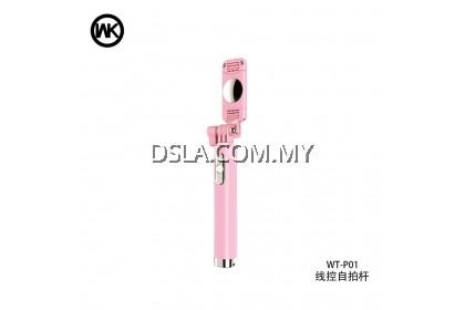 WK DESIGN Wt - P01 Wire Control Selfie Stick Wire Control Wk Wt-p01