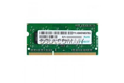 APACER 1.35V 4GB DDR3L-1600MHz SO-DIMM RAM for Laptops & Notebooks